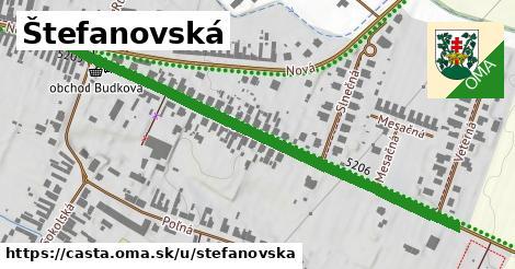 ilustračný obrázok k Štefánovská, Častá