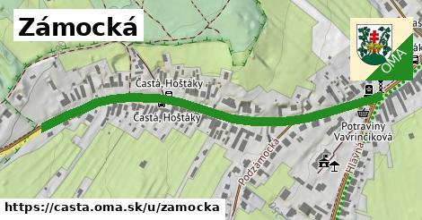 ilustrácia k Zámocká, Častá - 640m