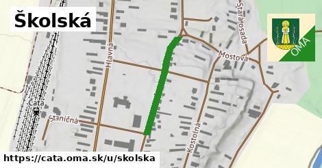 ilustrácia k Školská, Čata - 242m