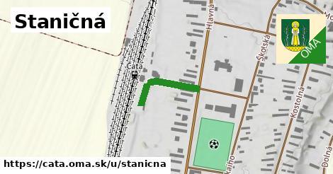 ilustrácia k Staničná, Čata - 172m