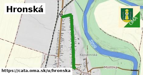 ilustrácia k Hronská, Čata - 696m