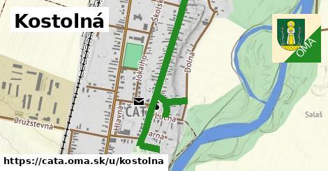 ilustrácia k Kostolná, Čata - 1,06km