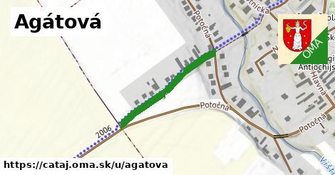 ilustrácia k Agátová, Čataj - 270m