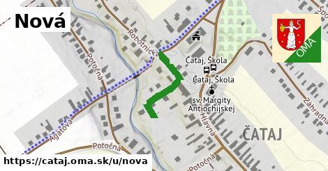 ilustrácia k Nová, Čataj - 205m