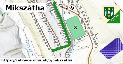 ilustrácia k Mikszátha, Čebovce - 395m