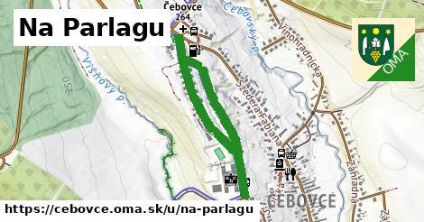 ilustrácia k Ulica na parlagu, Čebovce - 1,06km