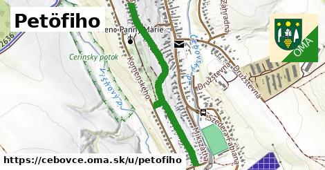 ilustrácia k Petőfiho, Čebovce - 0,89km
