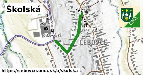 ilustrácia k Školská, Čebovce - 352m