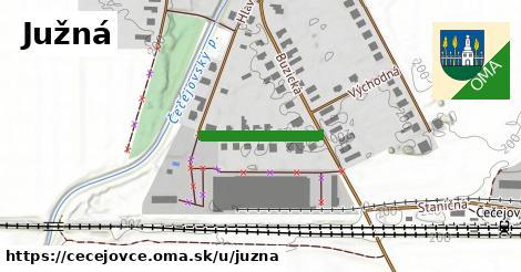 ilustrácia k Južná, Čečejovce - 170m