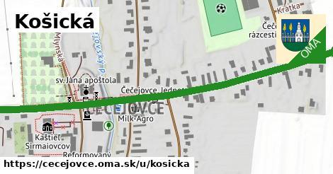 ilustrácia k Košická, Čečejovce - 0,99km