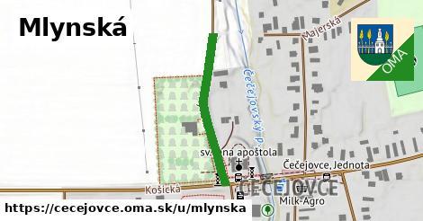 ilustrácia k Mlynská, Čečejovce - 273m