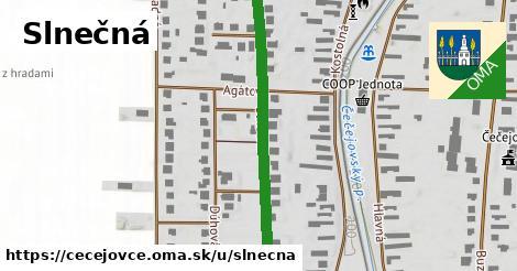 ilustrácia k Slnečná, Čečejovce - 555m