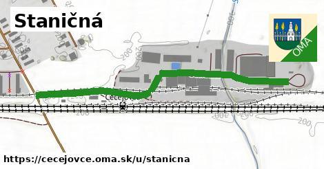 ilustrácia k Staničná, Čečejovce - 602m