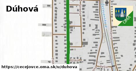 ilustrácia k Dúhová, Čečejovce - 396m