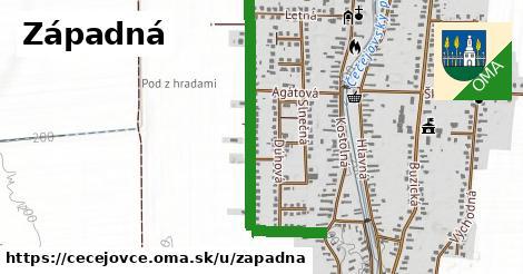 ilustrácia k Západná, Čečejovce - 0,97km