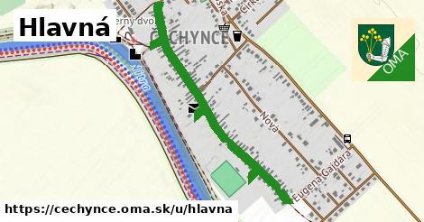 ilustrácia k Hlavná, Čechynce - 0,88km