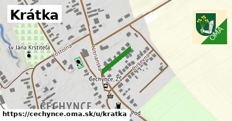 ilustrácia k Krátka, Čechynce - 120m