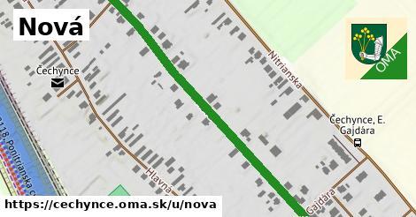 ilustrácia k Nová, Čechynce - 514m
