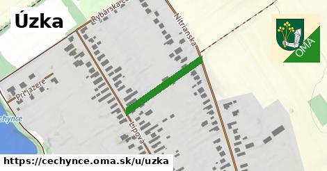ilustrácia k Úzka, Čechynce - 213m