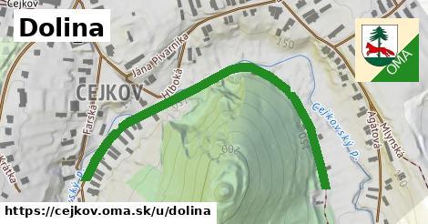 ilustrácia k Dolina, Cejkov - 625m