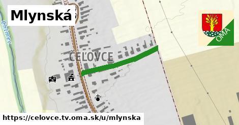 ilustrácia k Mlynská, Čeľovce, okres TV - 250m