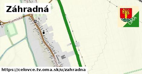 ilustrácia k Záhradná, Čeľovce, okres TV - 0,94km