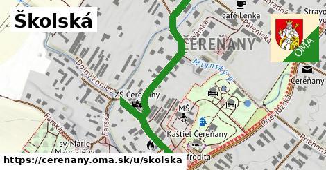 ilustrácia k Školská, Čereňany - 586m