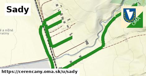 ilustrácia k Sady, Čerenčany - 1,25km