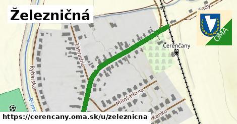 ilustrácia k Železničná, Čerenčany - 422m