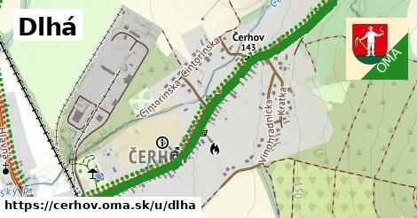 ilustrácia k Dlhá, Čerhov - 1,23km