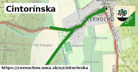 ilustrácia k Cintorínska, Černochov - 663m