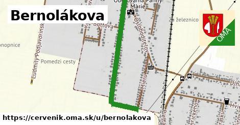 ilustrácia k Bernolákova, Červeník - 672m