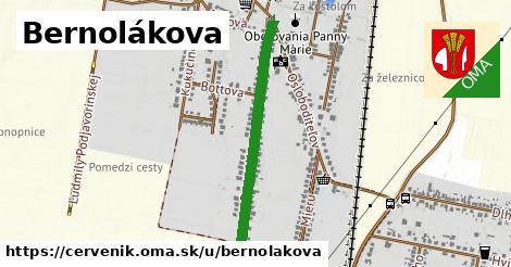 ilustračný obrázok k Bernolákova, Červeník