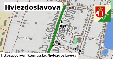 ilustrácia k Hviezdoslavova, Červeník - 334m