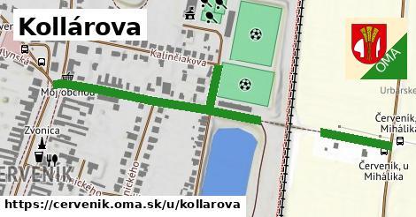 ilustrácia k Kollárova, Červeník - 391m