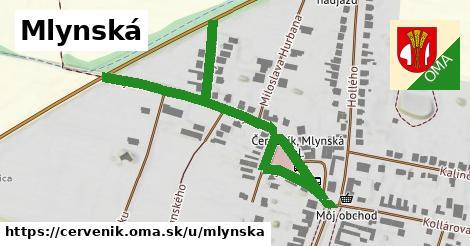 ilustrácia k Mlynská, Červeník - 0,74km