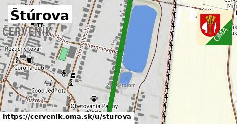ilustrácia k Štúrova, Červeník - 427m
