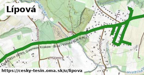 ilustrácia k Lípová, Český Těšín - 4,8km