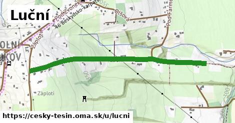 ilustrácia k Luční, Český Těšín - 1,11km