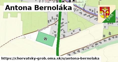 ilustrácia k Antona Bernoláka, Chorvátsky Grob - 502m