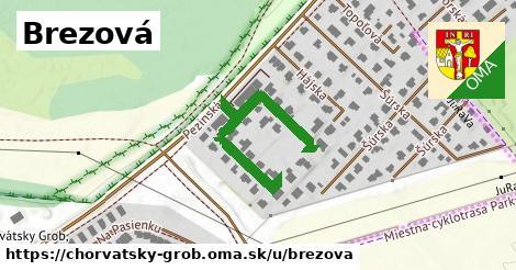 ilustrácia k Brezová, Chorvátsky Grob - 358m