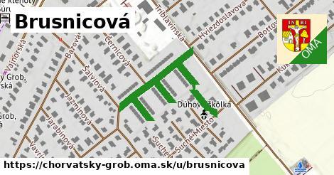 ilustrácia k Brusnicová, Chorvátsky Grob - 210m