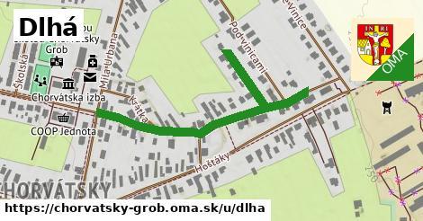 ilustrácia k Dlhá, Chorvátsky Grob - 444m