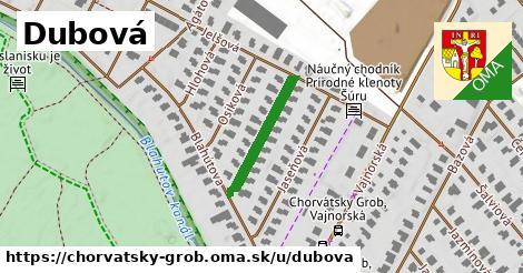 ilustrácia k Dubová, Chorvátsky Grob - 195m