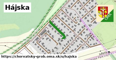 ilustrácia k Hájska, Chorvátsky Grob - 152m