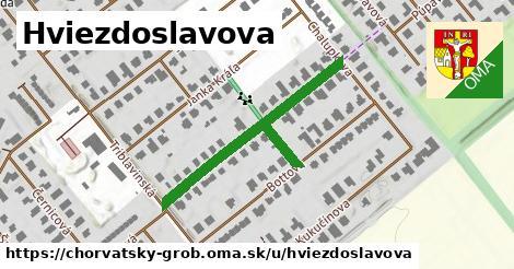 ilustrácia k Hviezdoslavova, Chorvátsky Grob - 417m