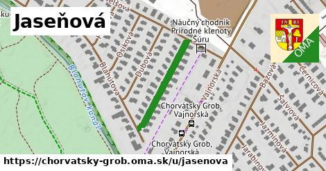 ilustrácia k Jaseňová, Chorvátsky Grob - 236m