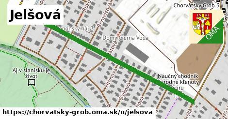 ilustrácia k Jelšová, Chorvátsky Grob - 595m