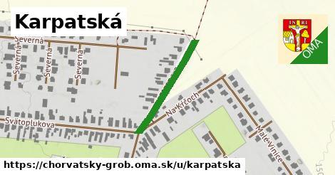 ilustrácia k Karpatská, Chorvátsky Grob - 253m