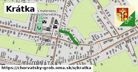 ilustrácia k Krátka, Chorvátsky Grob - 140m